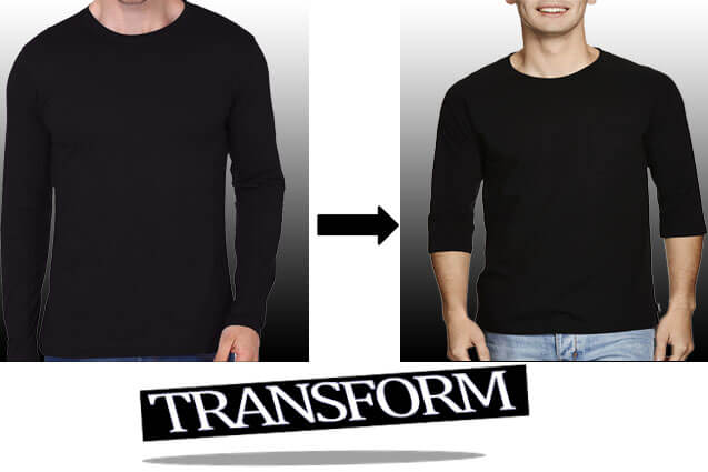 transform long sleeve shirt