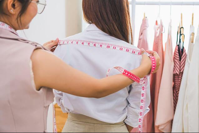 SHOULDER SEWING