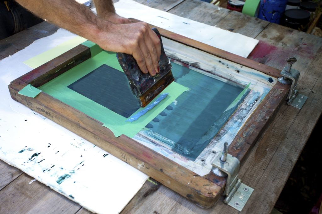screen printing silkscreen