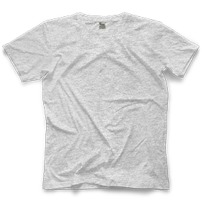 Custom Ash-Grey T-shirt