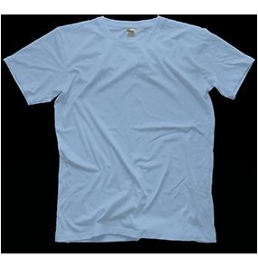 Custom Carolina-Blue T-shirt