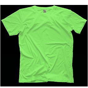 Custom Lime-Green T-shirt